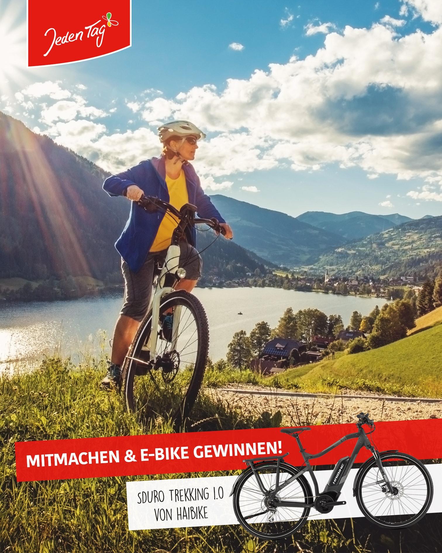 Jeden Tag Gewinnspiel - E-Bike