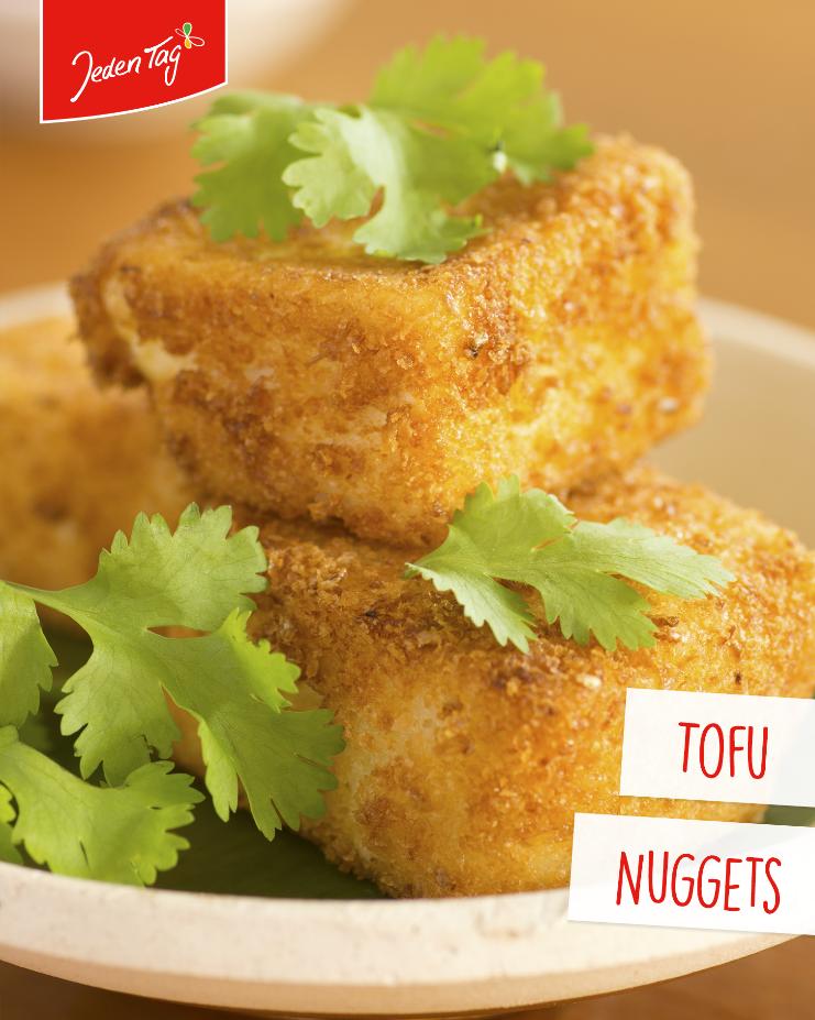 Jeden Tag Rezept-Tipp: Tofu Nuggets