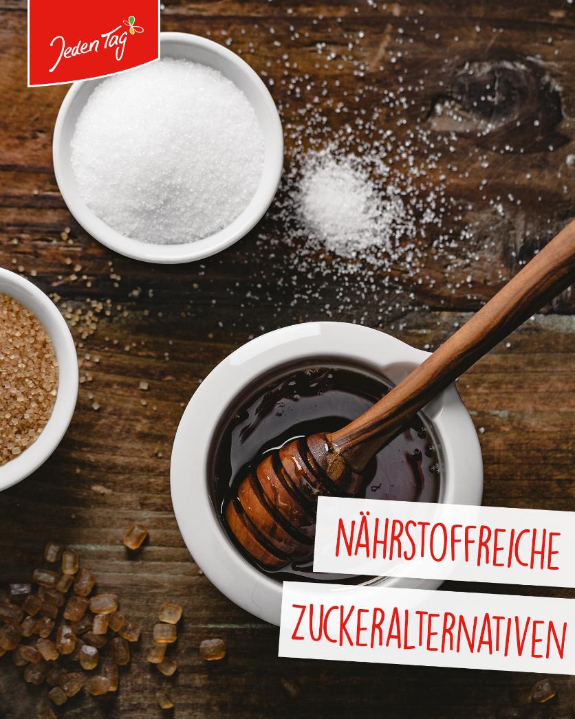 Jeden Tag Küchen-Hack: Nährstoffreiche Zuckeralternativen