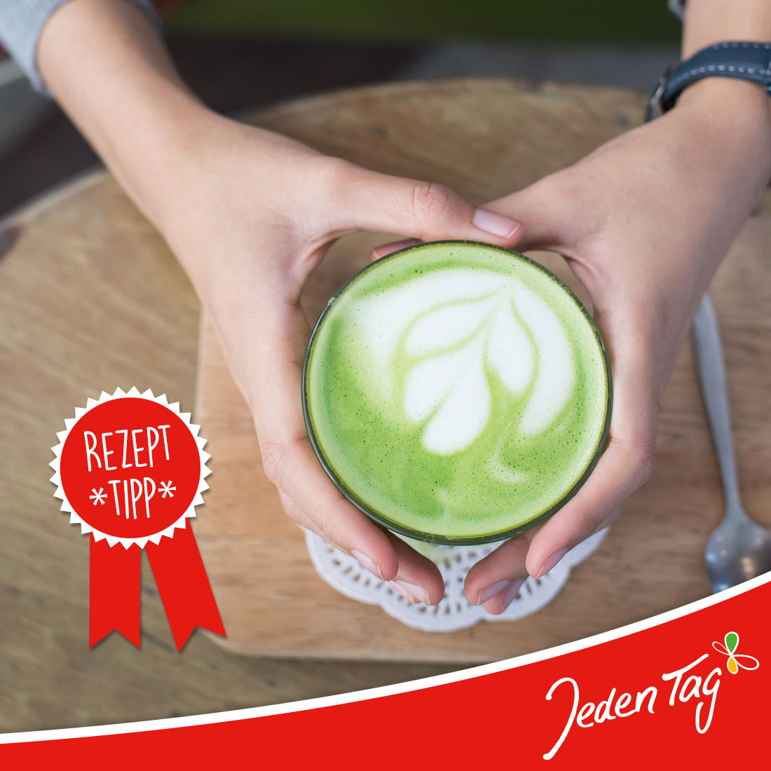 Jeden Tag Rezept-Tipp: Matcha Latte