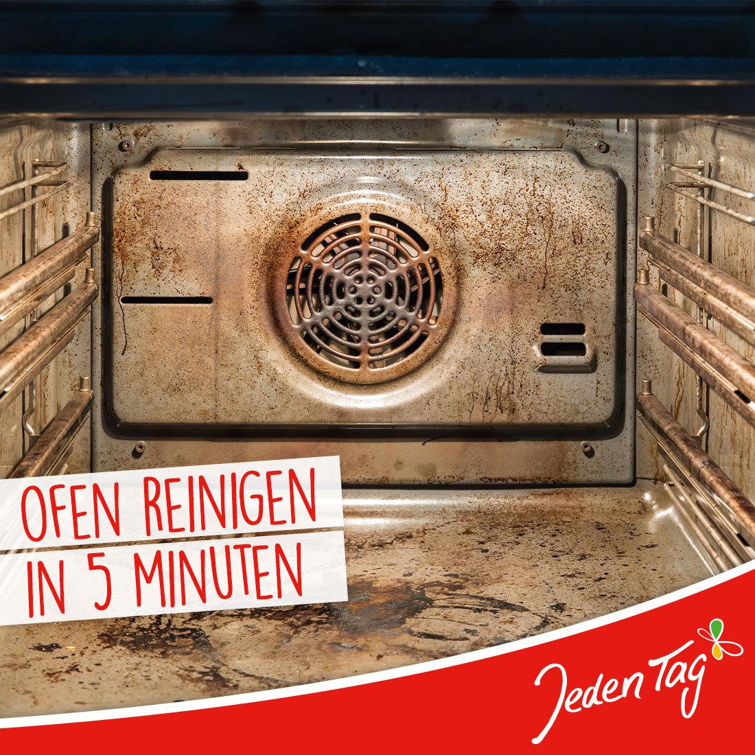 Jeden Tag-Hack: Ofen reinigen