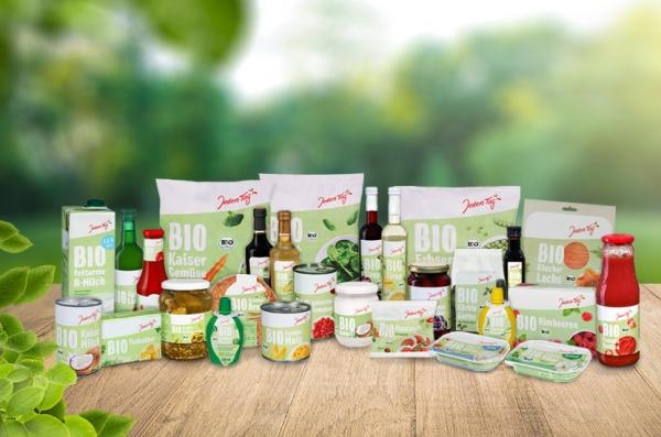 Bio Produkte von Jeden Tag
